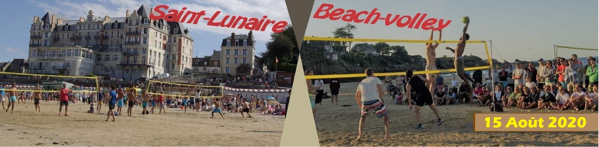 Tournoi de beach-volley de Saint-Lunaire