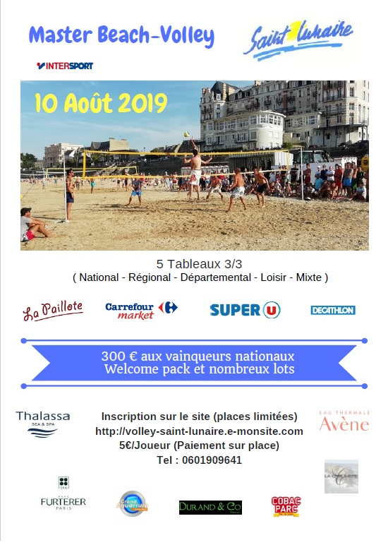 Affiche tournoi 2019